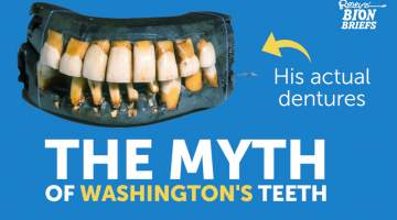 washington's teeth