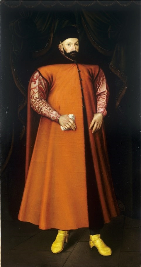Portrait of King Stephen Bathory