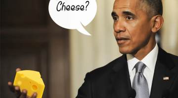 big cheese obama