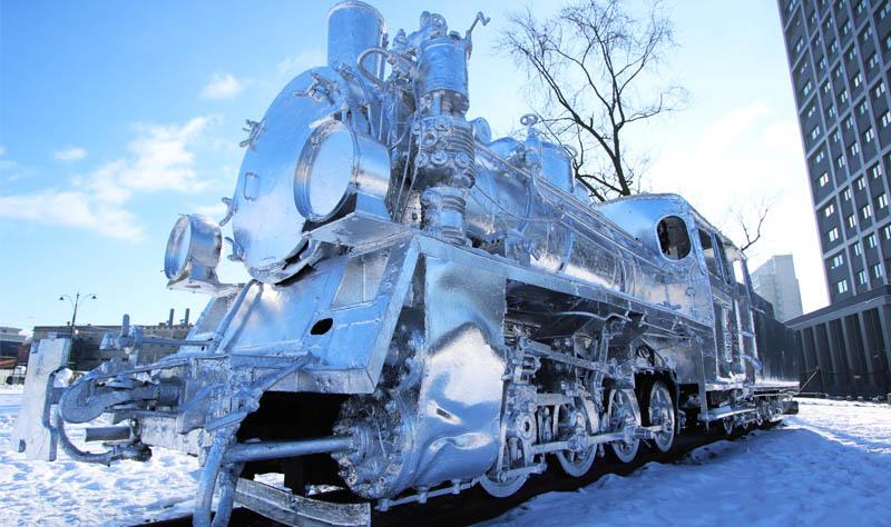 aluminum foil train in poland
