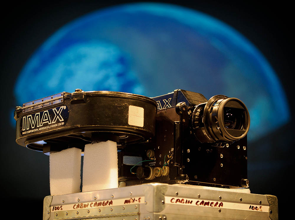 IMAX camera from space shuttle
