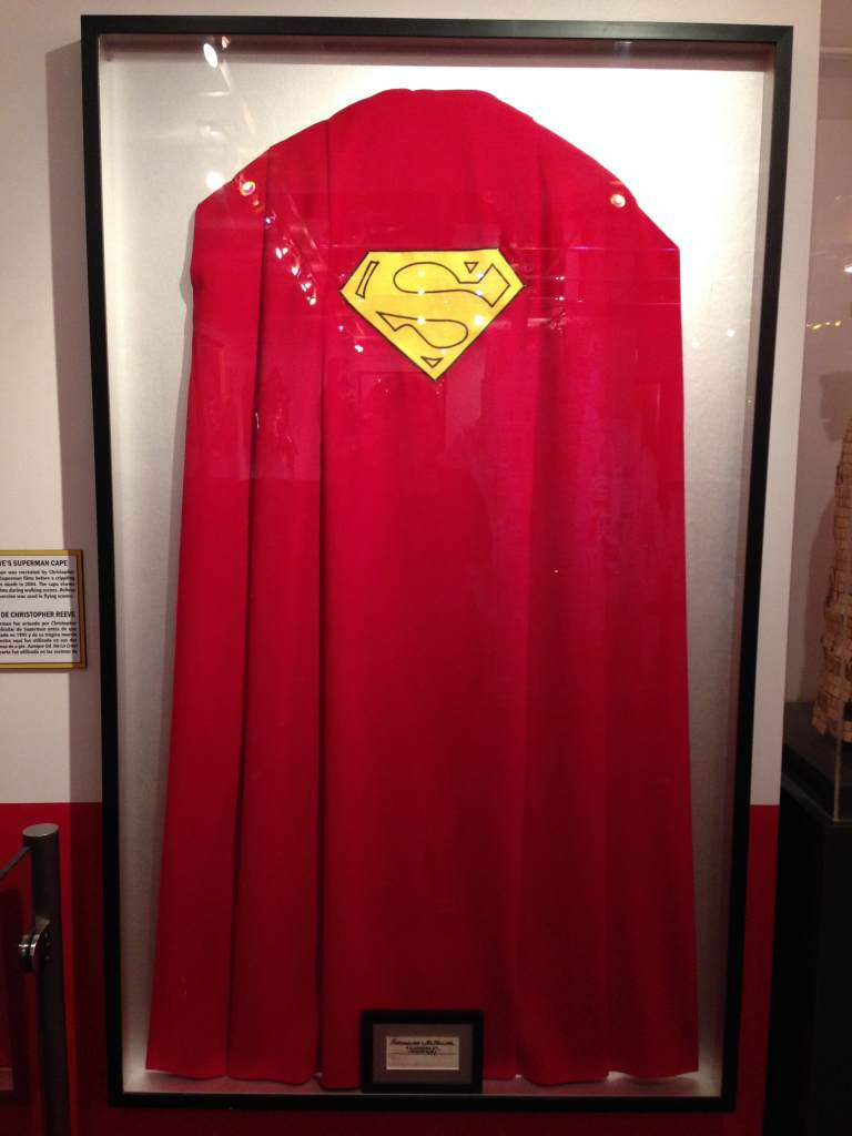 Christopher Reeves Superman Cape