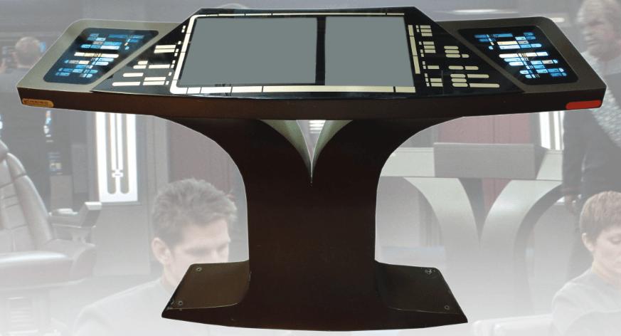 Star Trek Bridge Engineering Console
