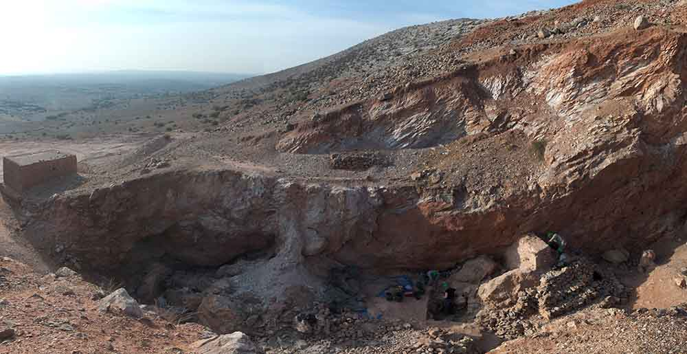 moroccan cave dig site