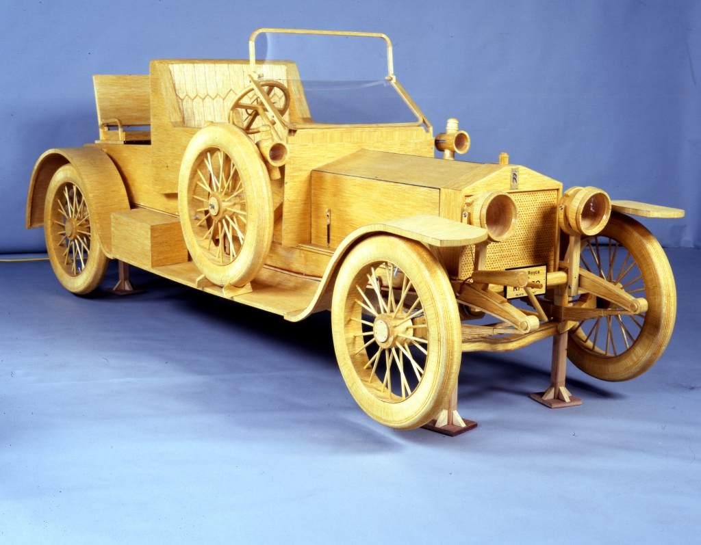 One million matchsticks Rolls Royce