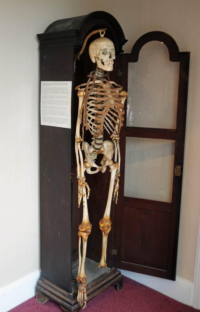 John Horwood's skeleton
