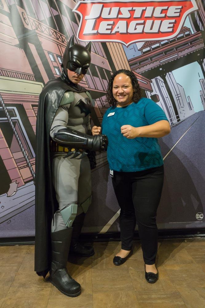 Priscilla and Batman