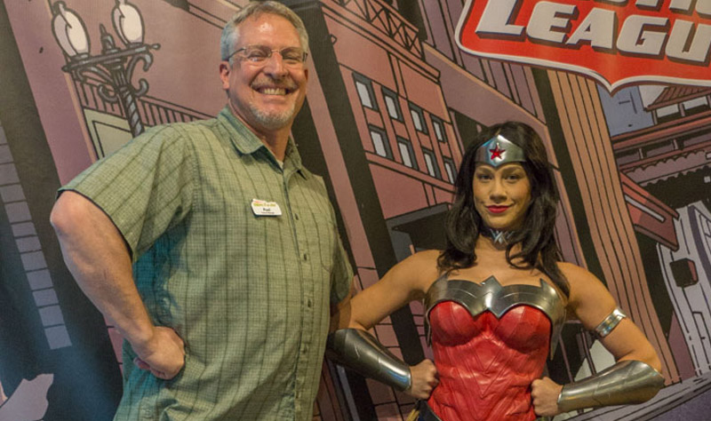 Paul And Wonder Woman