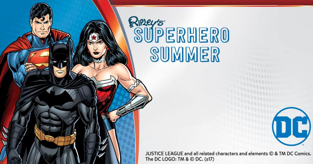 It's a Ripley's Superhero Summer for All! - 웹