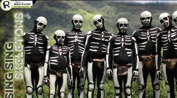 skeletal body paint