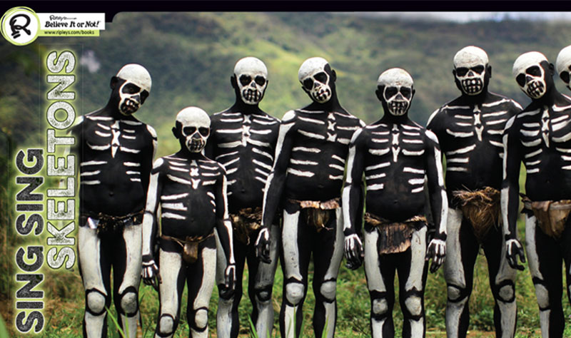 skeletal body paint