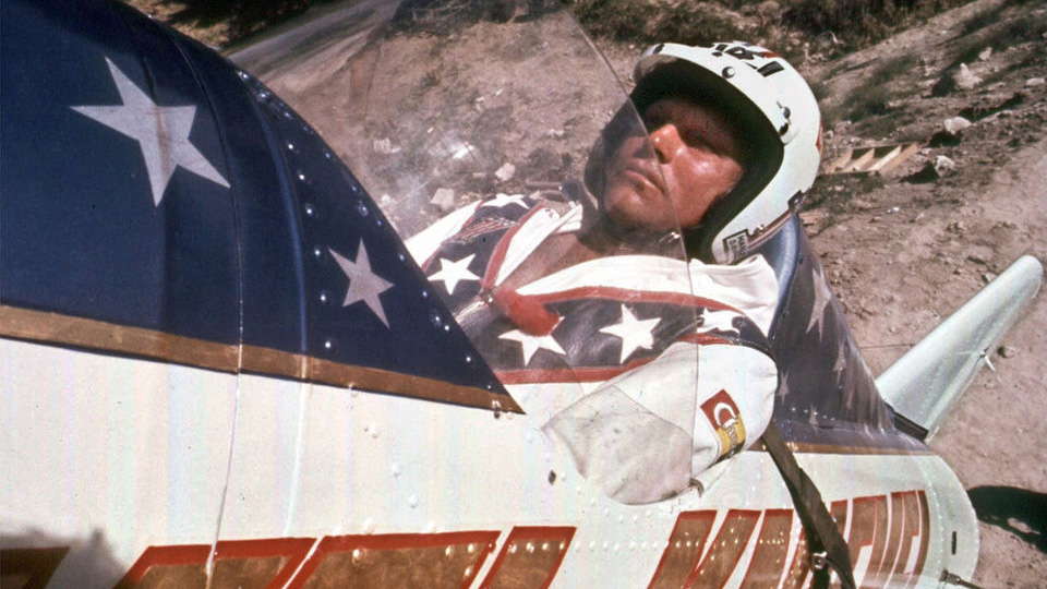 Knievel S 76 Ironhead Could Be Yours: Evel Knievel's Death-Defying Descent