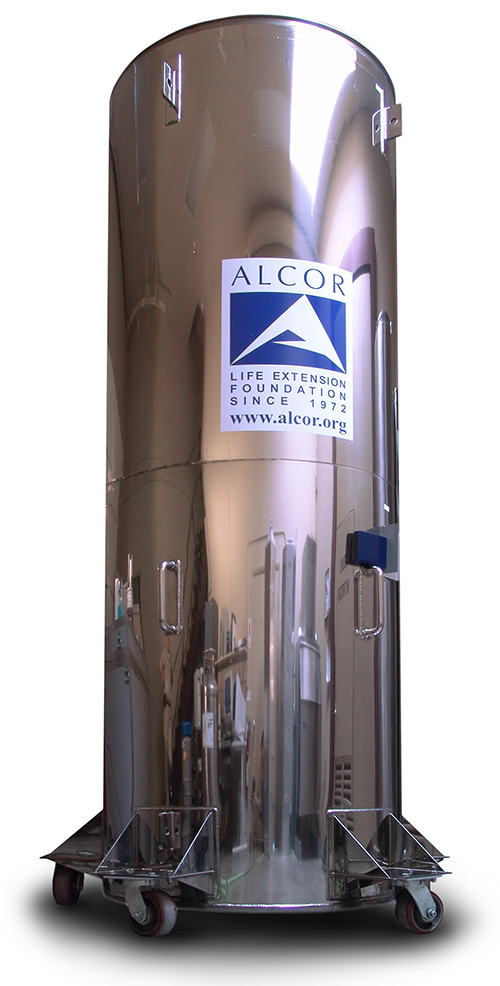 cryonics container