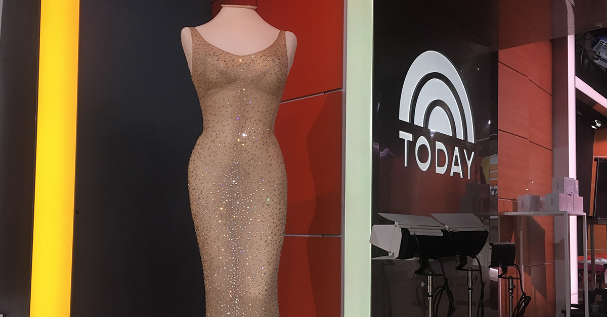 The Most Expensive Dress featured on the TODAY show!