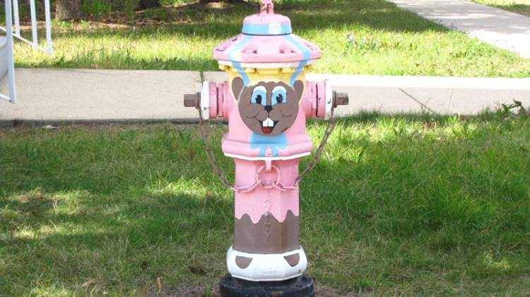 Torrington gopher fire hydrant.