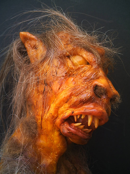 chupacabra taxidermy gaff