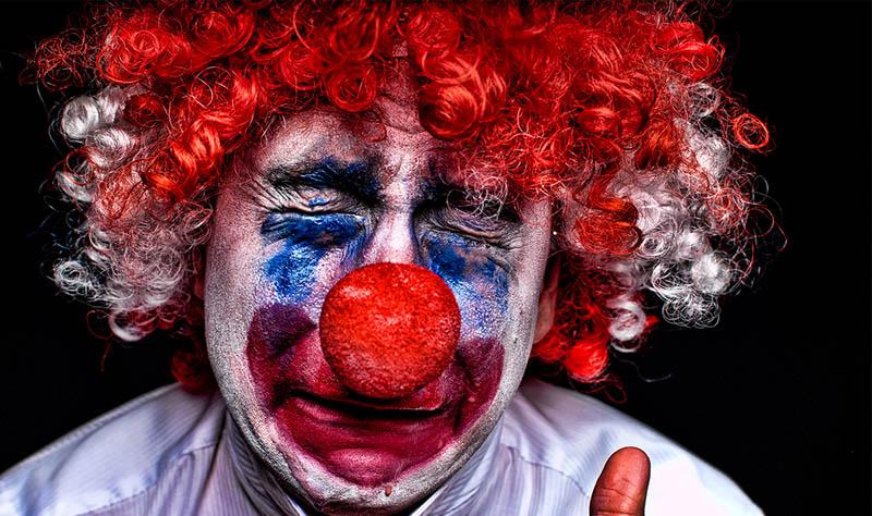 clowns plight
