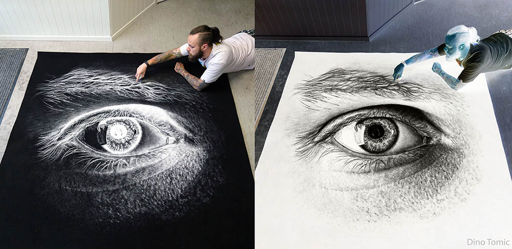 salt art eye