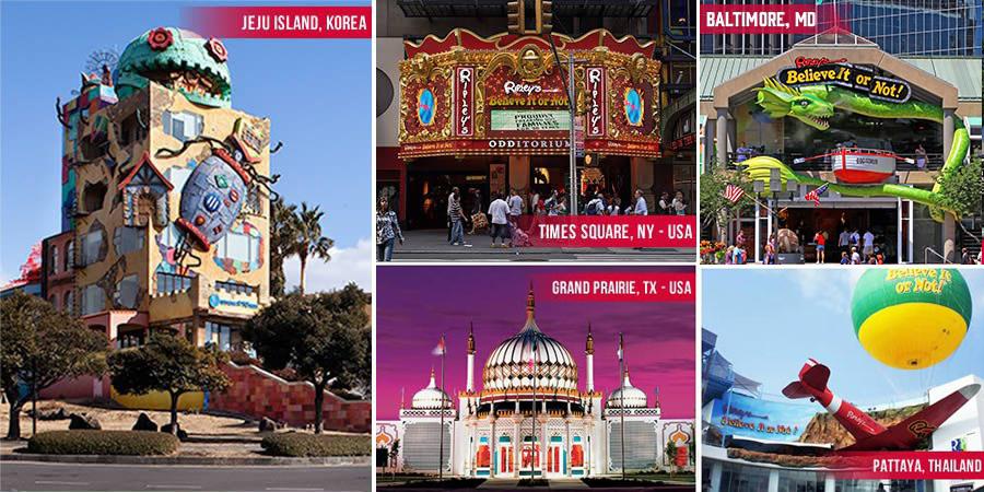 ripley s attractions worldwide ripley s believe it or not