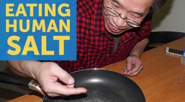human sweat tasting