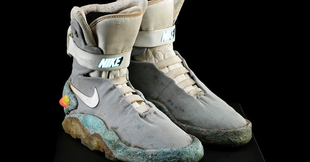 Marty McFlys Light Up Nike
