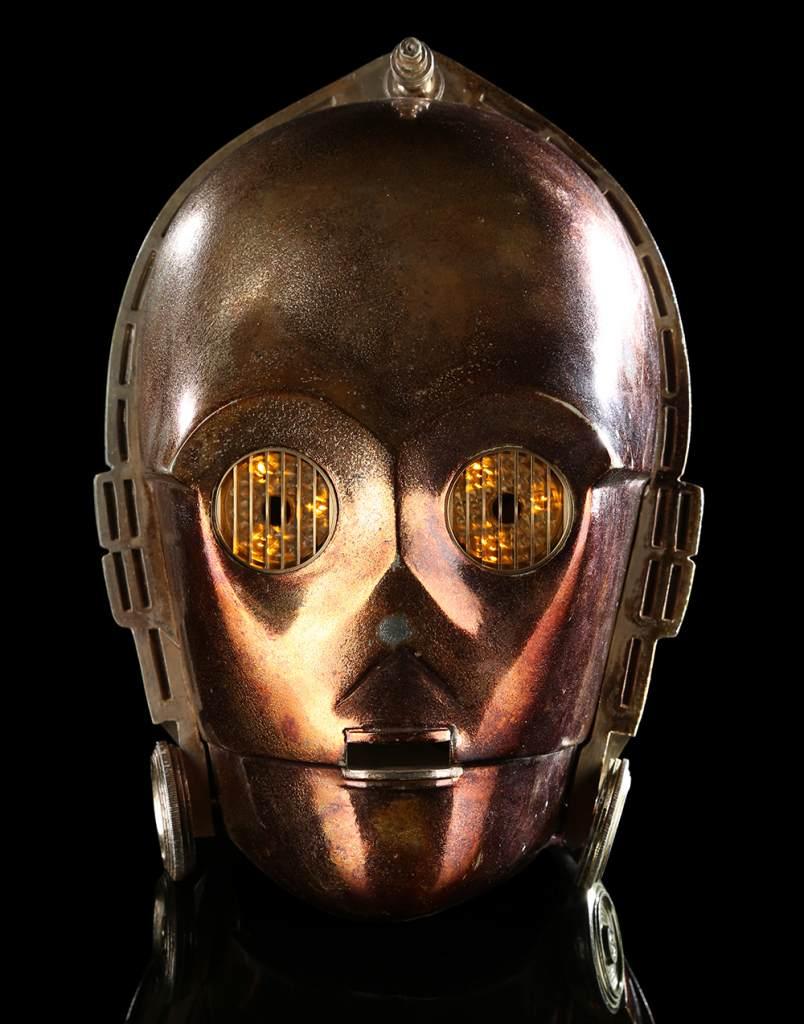 C-3PO Anthony Daniels Head