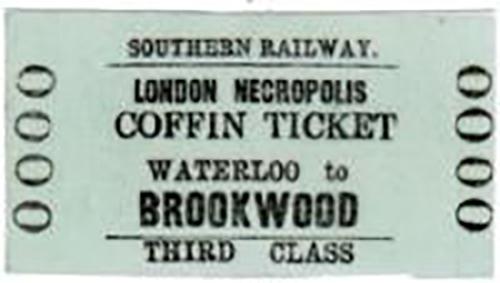 london necropolis railway ticket