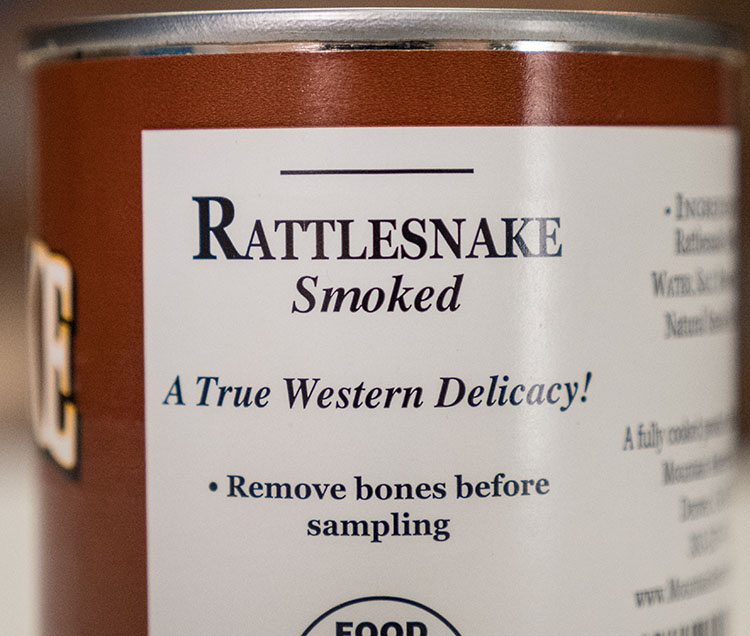 non-perishable rattlesnake