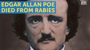 poe had rabies