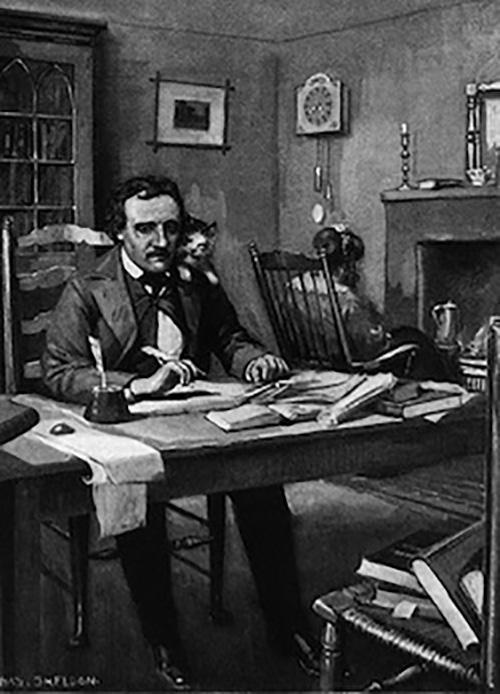 Edgar Allan Poe morreu provavelmente de raiva
