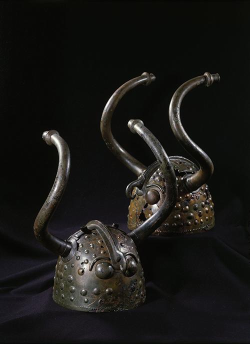 Vesko horned helmets
