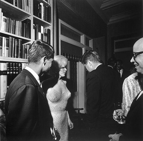 JFK and Monroe