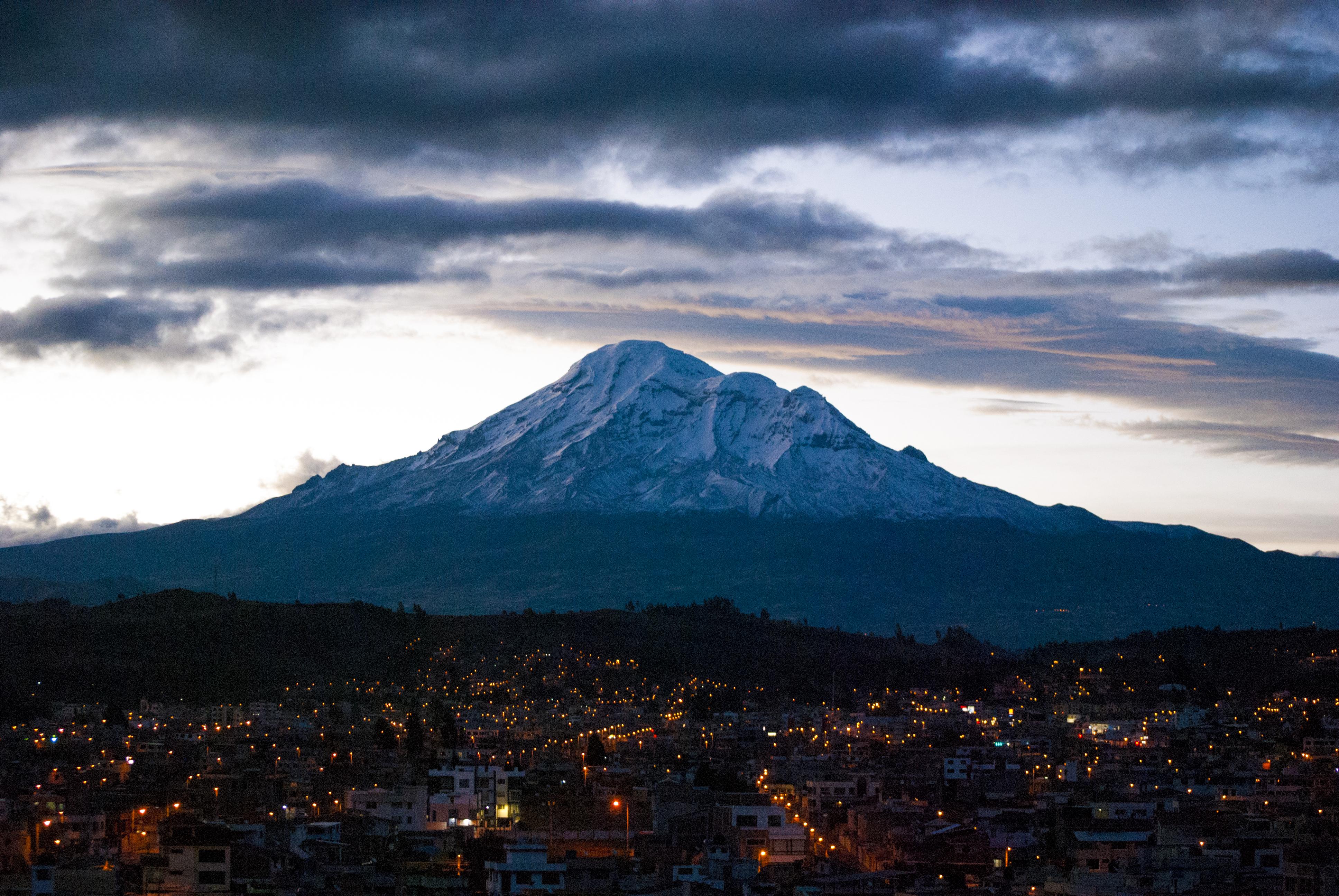 tallest mountain chimborazo