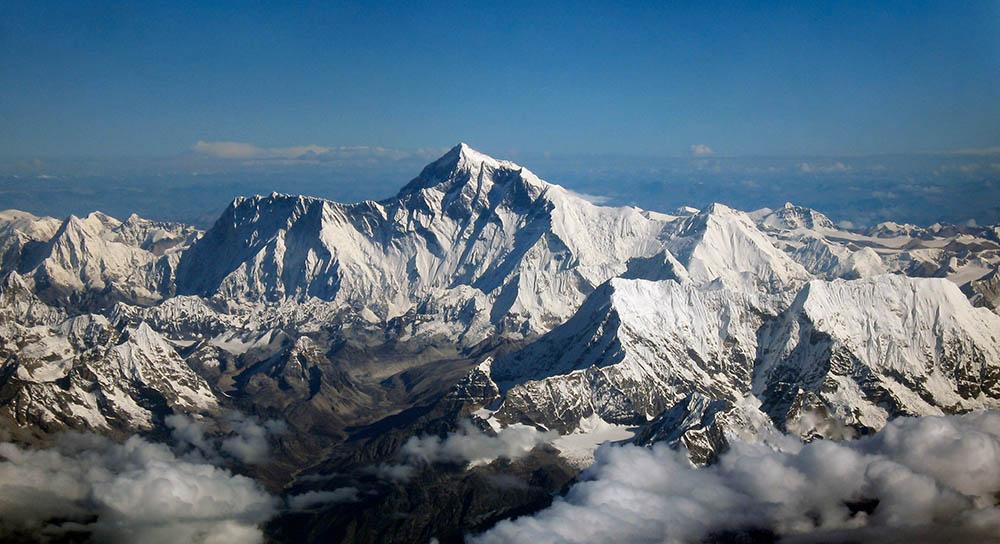 tallest mountain everest