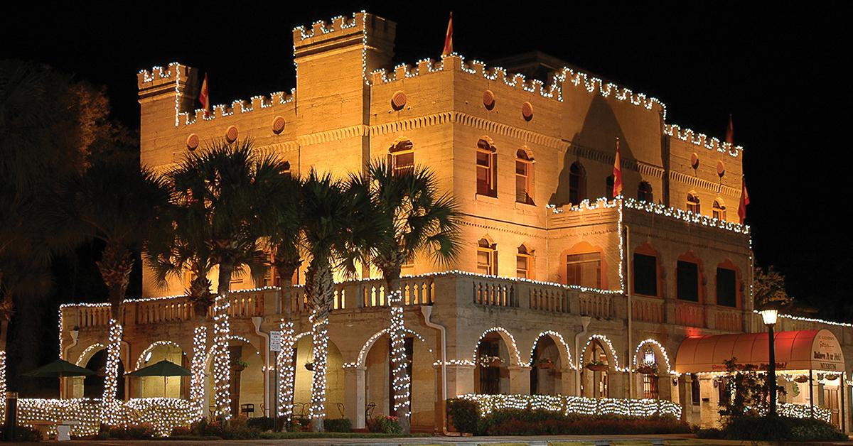 St Augustine Lights Ripleyu0027s Believe It or Not!