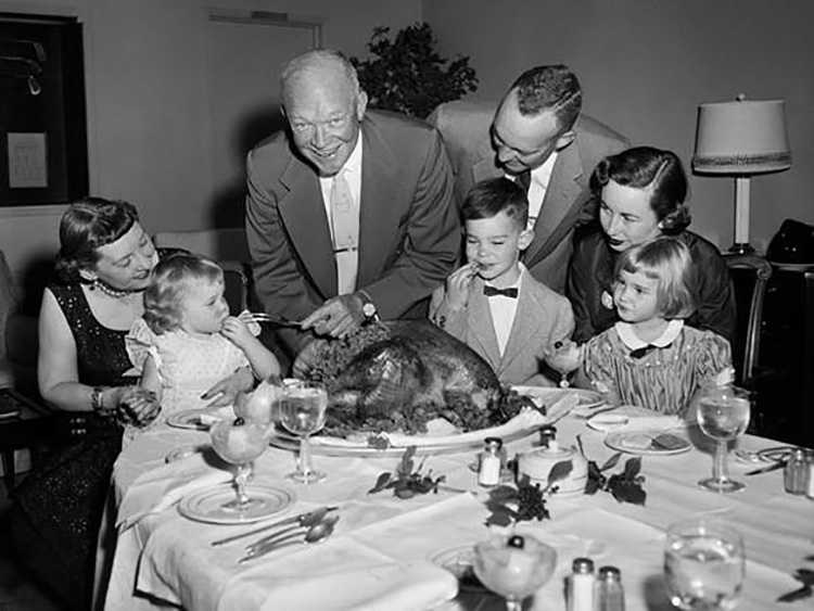 eisenhower's thanksgiving