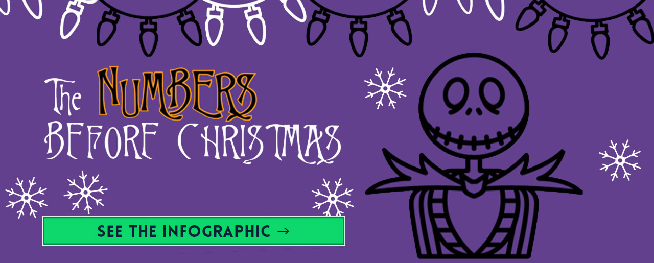 nightmare before christmas infographic