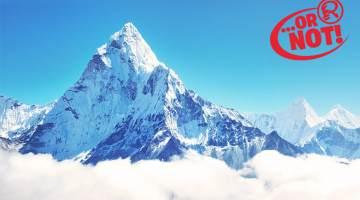 the tallest mountain