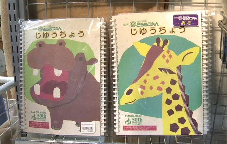 notebooks made form animal waste