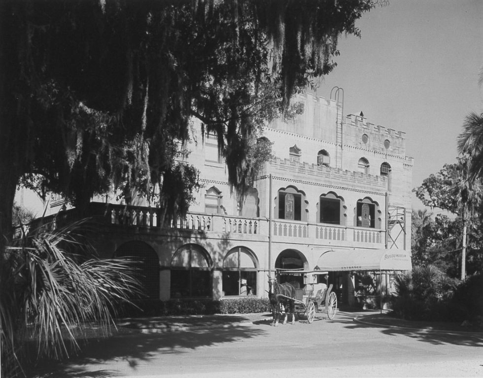 Old photos circa 1950 of the St. Augustine BION.