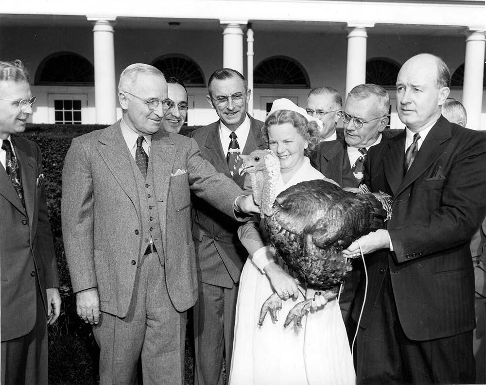 truman turkey reception