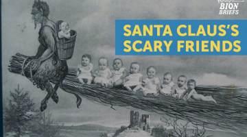 santa's scary friends