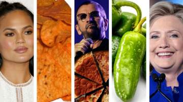 History's Strangest Celebrity Eating Habits
