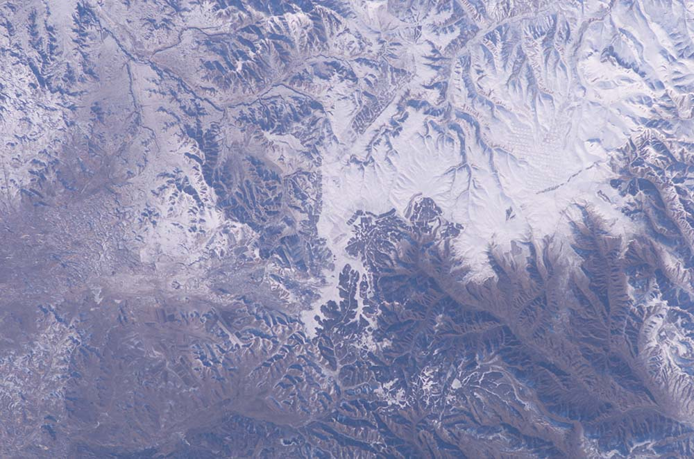 china from ISS