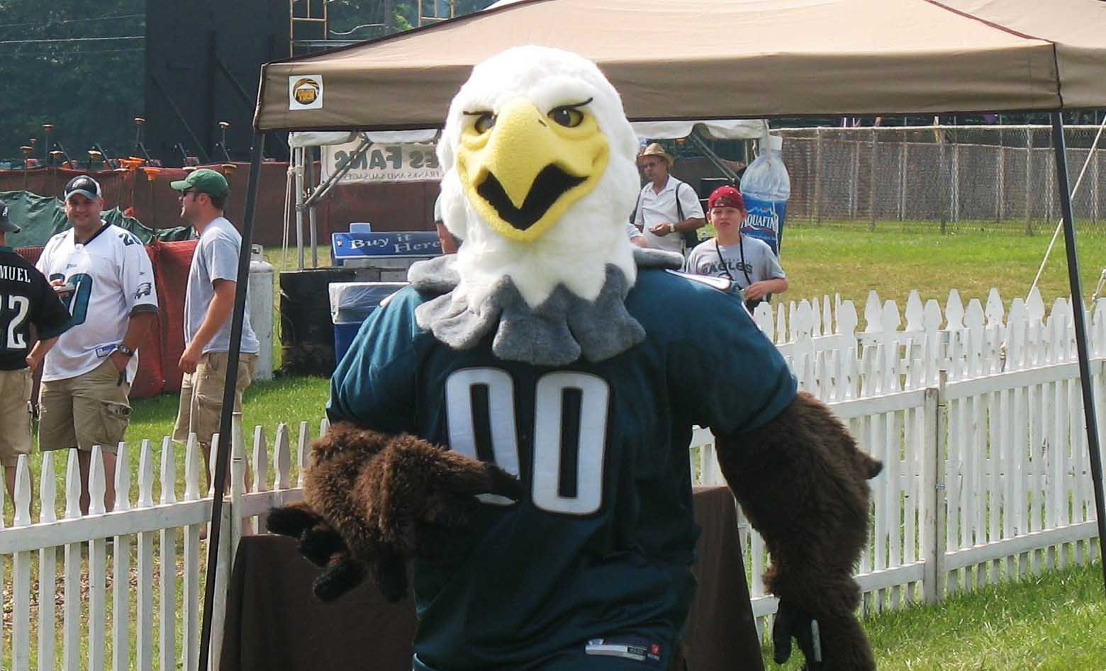 swoop eagles mascot