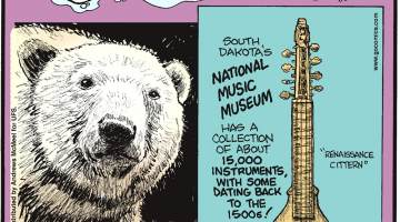 Soap doesn't kill germs!-------------------- Female polar bears can fast for about eight months at a time - the longest of any mammal!-------------------- South Dakota's National Music Museum has a collection of about 15,000 instruments, with some dating back to the 1500s!