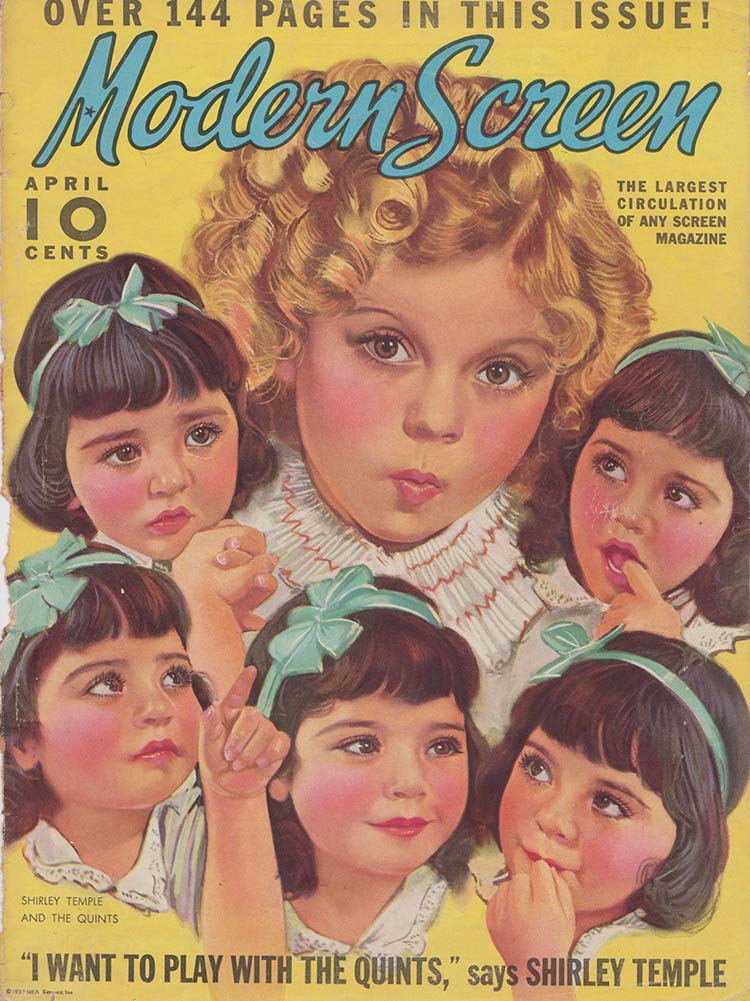 dionne quintuplets and shirley temple
