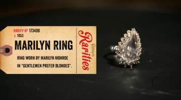 marilyn monroe's ring