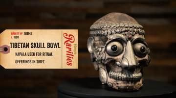 tibetan skull bowl kapala