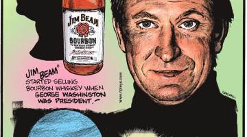 Jim Beam started selling whiskey when George Washington was president!-------------------- For nearly 70 years, the planet Uranus was named George!-------------------- If you removed all of Wayne Gretzky's goals from record, he would still be the NHL's all-time leader in points!